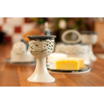 Ceramic Celtic Goblet