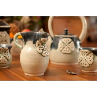Celtic Ceramic Milk Jug
