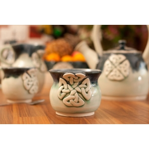 Ceramic Celtic Sugar Bowl