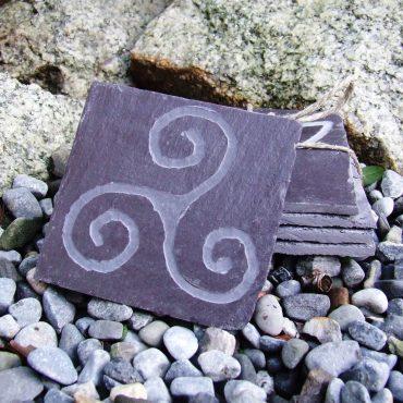 Hand Carved Slate...