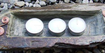 Slate Tea Light...