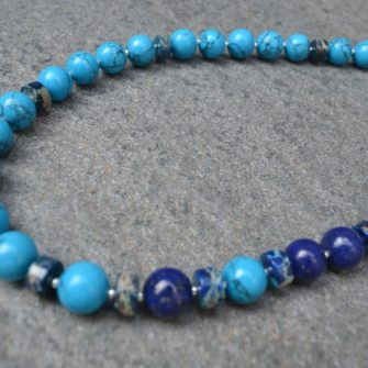 Turquoise and Lapis Lazuli Necklace