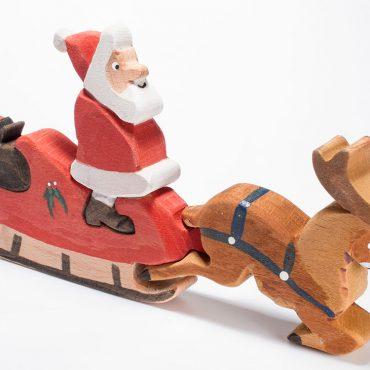 Santa's Sleigh Jigsaw