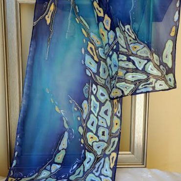Seashore Silk Scarf/Shawl
