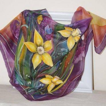 Spring Flowers Silk...
