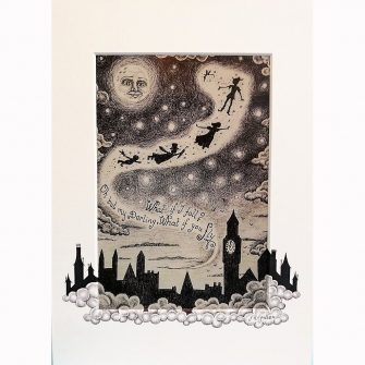 Peter Pan-Flying to Neverland by Jenni Kilgallon
