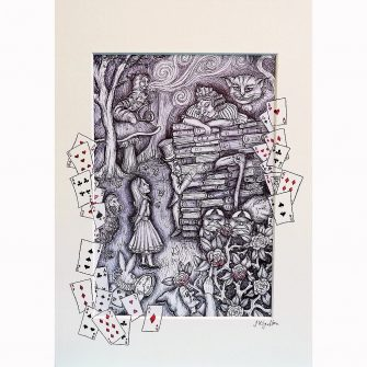 Alice in Wonderland - The Trial Print by Jenni Kilgallon