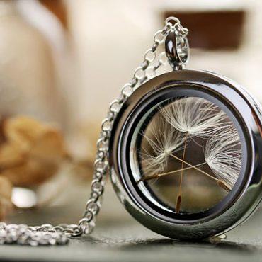 Dandelion Wish Silver...