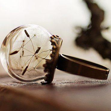 Dandelion Orb Ring...