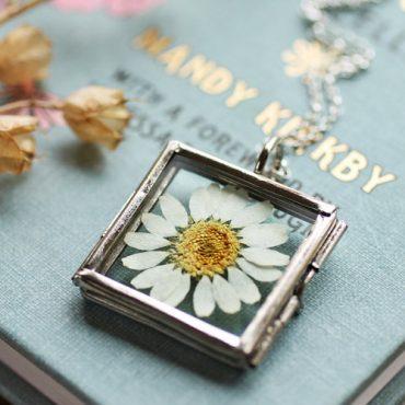 Daisy Silver Locket