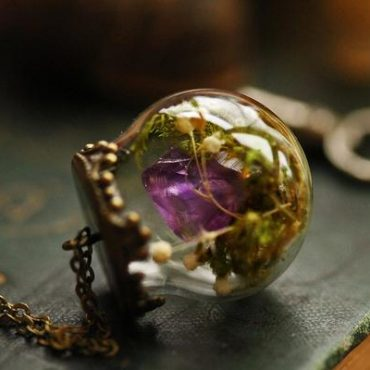 Amethyst and Moss...
