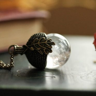 Crystal Ball Necklace...
