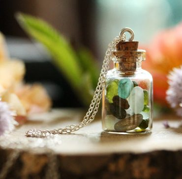 Real Seaglass Bottle...