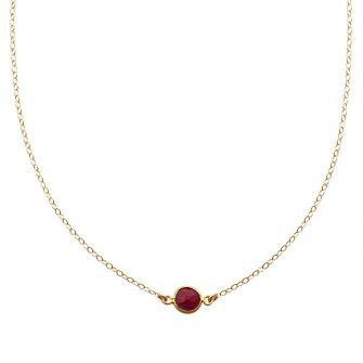 Ruby Gold Choker Necklace, A Box for my Treasure