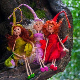 Irish Felt Fairy