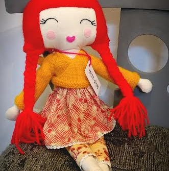 Large Rag Doll Annabelle
