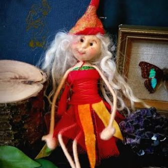 Irish Felt Fairy