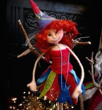 Felt Fairy 'Carolina'