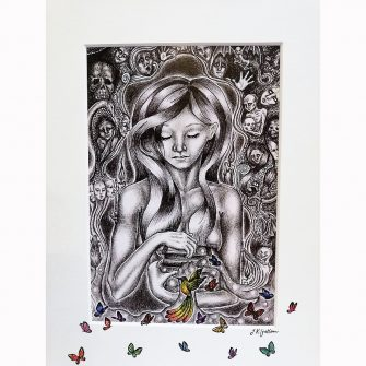 Pandora's Box Print by Jenni Kilgallon