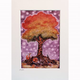 Enchanted Tree Print by Jenni Kilgallon