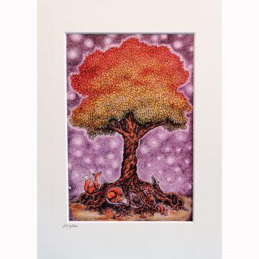 Enchanted Tree Print