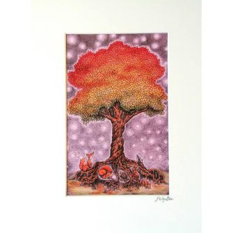 Enchanted Tree Print
