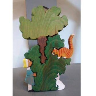 Ventry Alice in Wonderland Wooden Jigsaw
