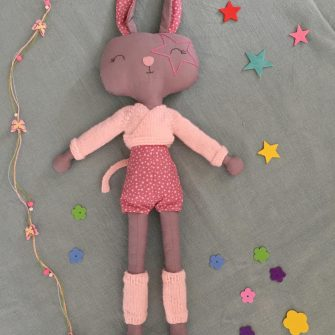Dance Star Bunny Soft Toy
