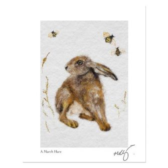 Hare Today Print