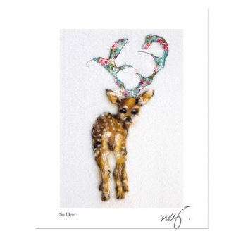 So Deer to me Print