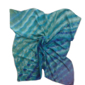 Rothlu classic square silk scarf