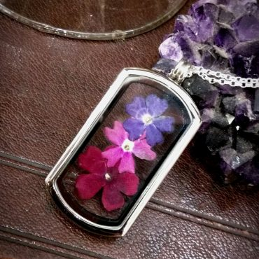 Three Flower Locket