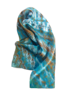 Rothlu Long Silk Scarf