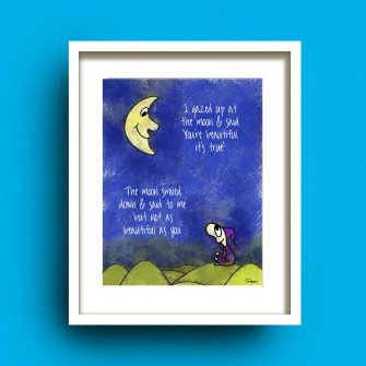 Moon & Me Print Fab Cow Designs