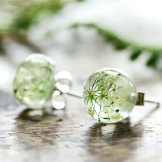 Queen Annes Lace Studs