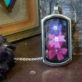 Ruby Robin 3 Flower Window Locket 2