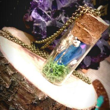 Blue Crystal Vial...