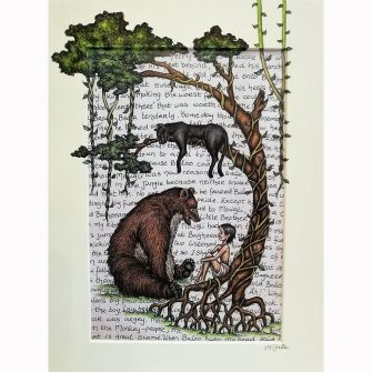 Jungle Book Print by Jenni Kilgallon