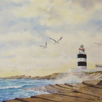 Hook Lighthouse Print