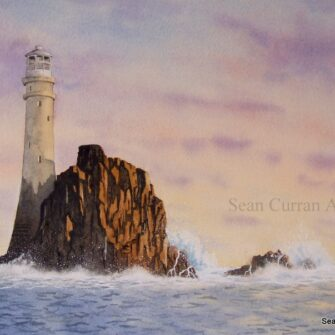 Irelands Teardrop, Fastnet Lighthouse Print
