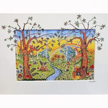 Enchanted Woodland Mural...