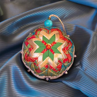Small Patchwork Bauble 2