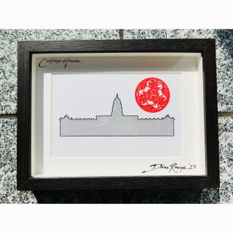 The Custom House Dublin Print
