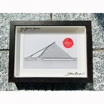 Sam Beckett Bridge Dublin Print