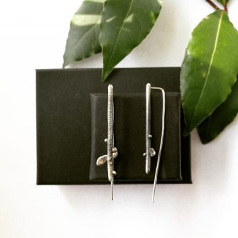 Zance Design Irish Made Silver Earrings
