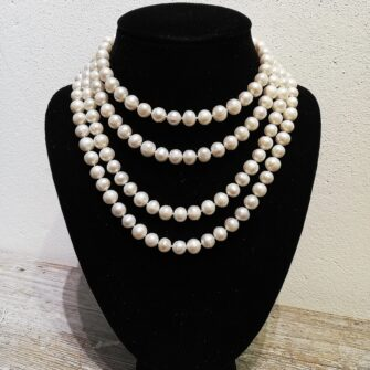 Freshwater Pearl Extra Long Necklace