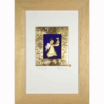 Karen Shannon Art, Guardian Angel Gift, New Baby Irish Present