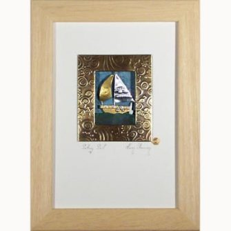 setting sail art, Karen Shannon Art