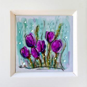 Miniature Glass Painting