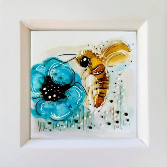 Miniature Bee Painting